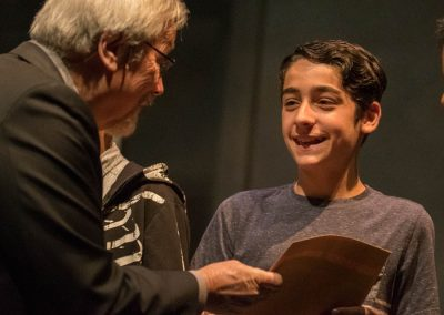 Award Winner receives prize for Literary Composition